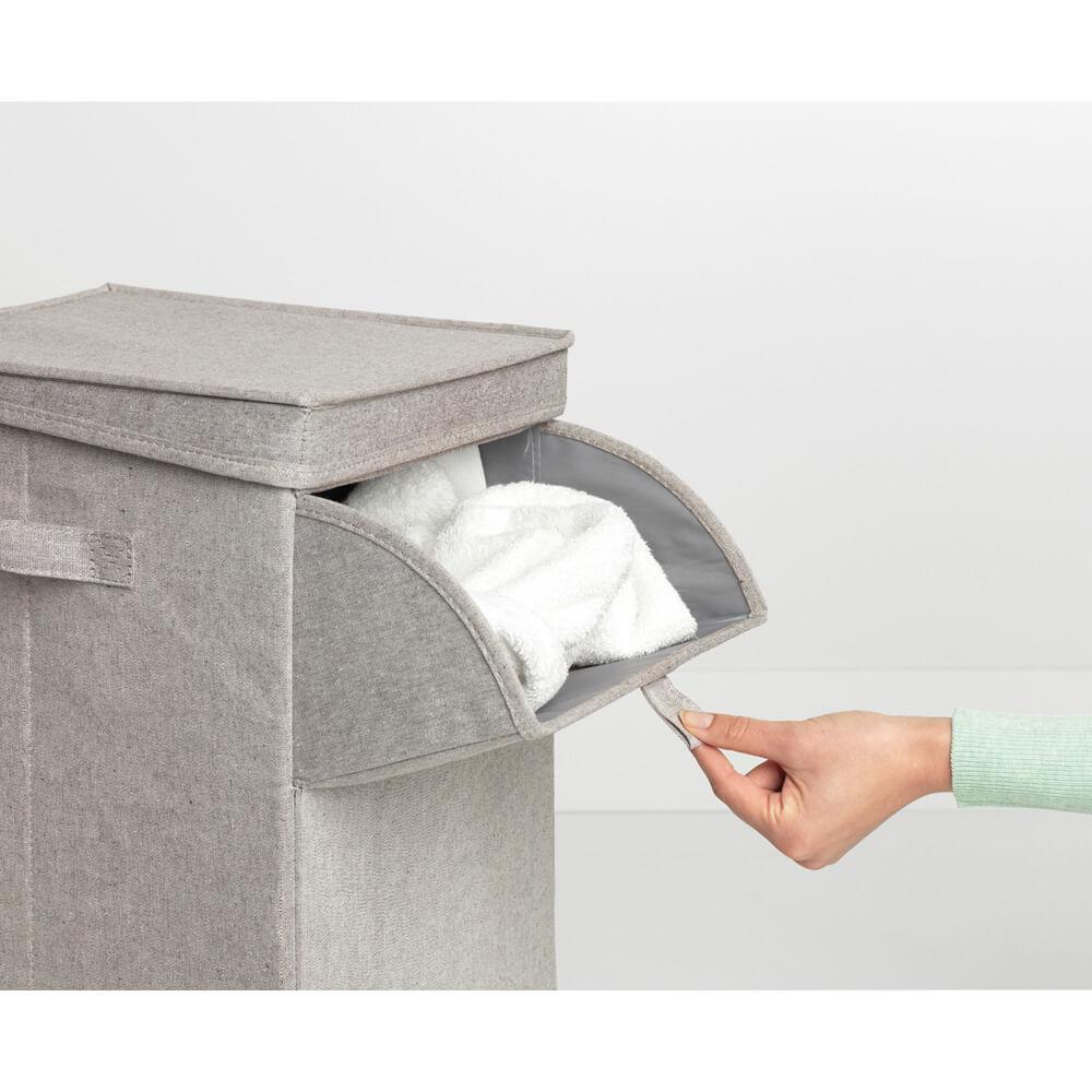 Кутия за пране Brabantia Stackable 35L, Grey(12)
