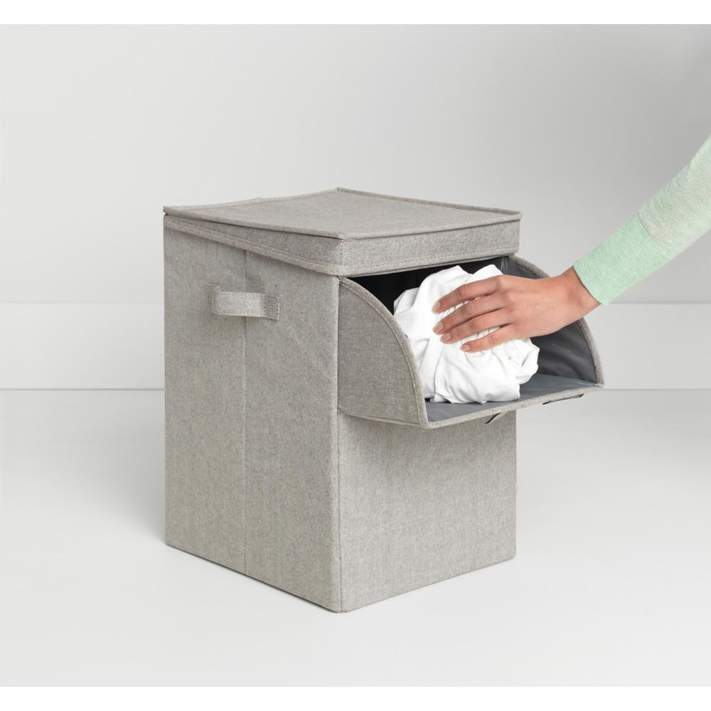 Кутия за пране Brabantia Stackable 35L, Grey(13)