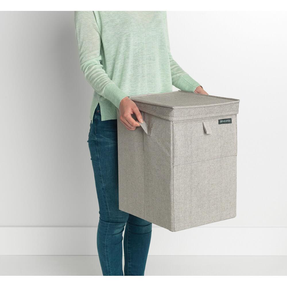 Кутия за пране Brabantia Stackable 35L, Grey(14)