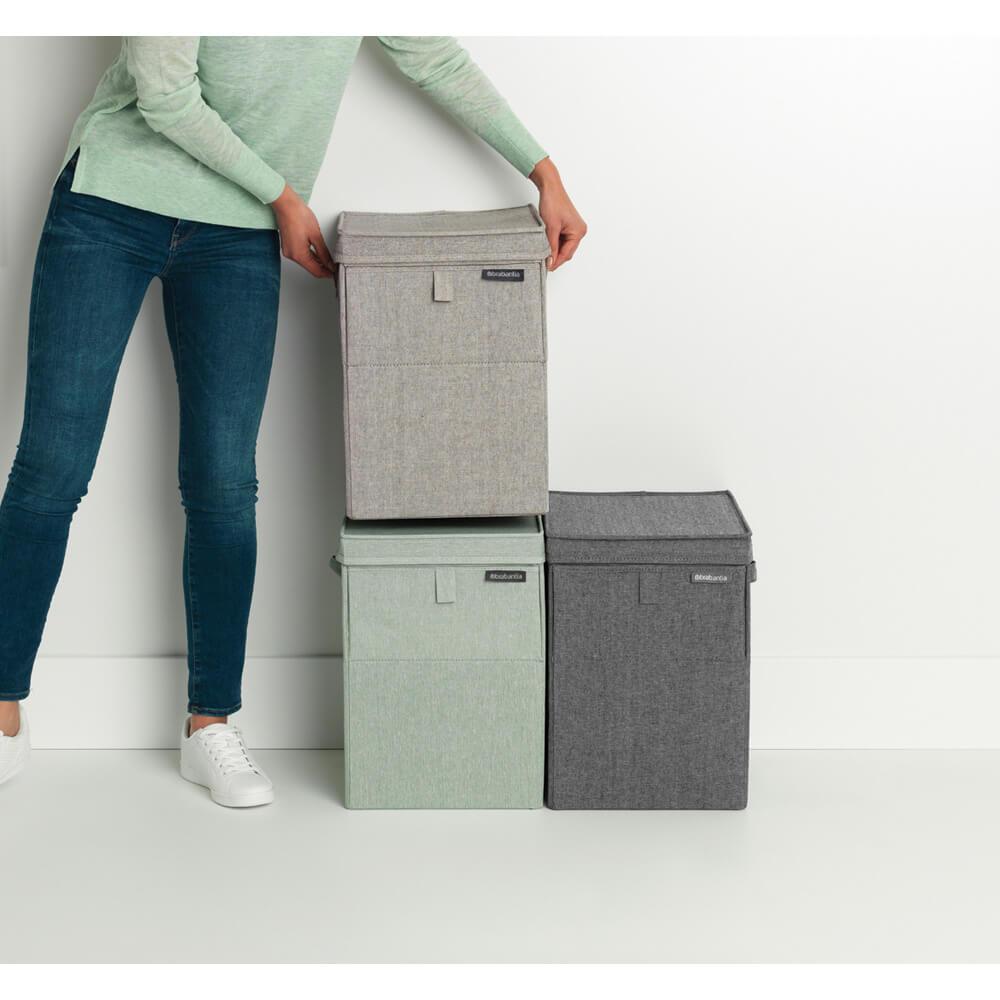 Кутия за пране Brabantia Stackable 35L, Grey(15)