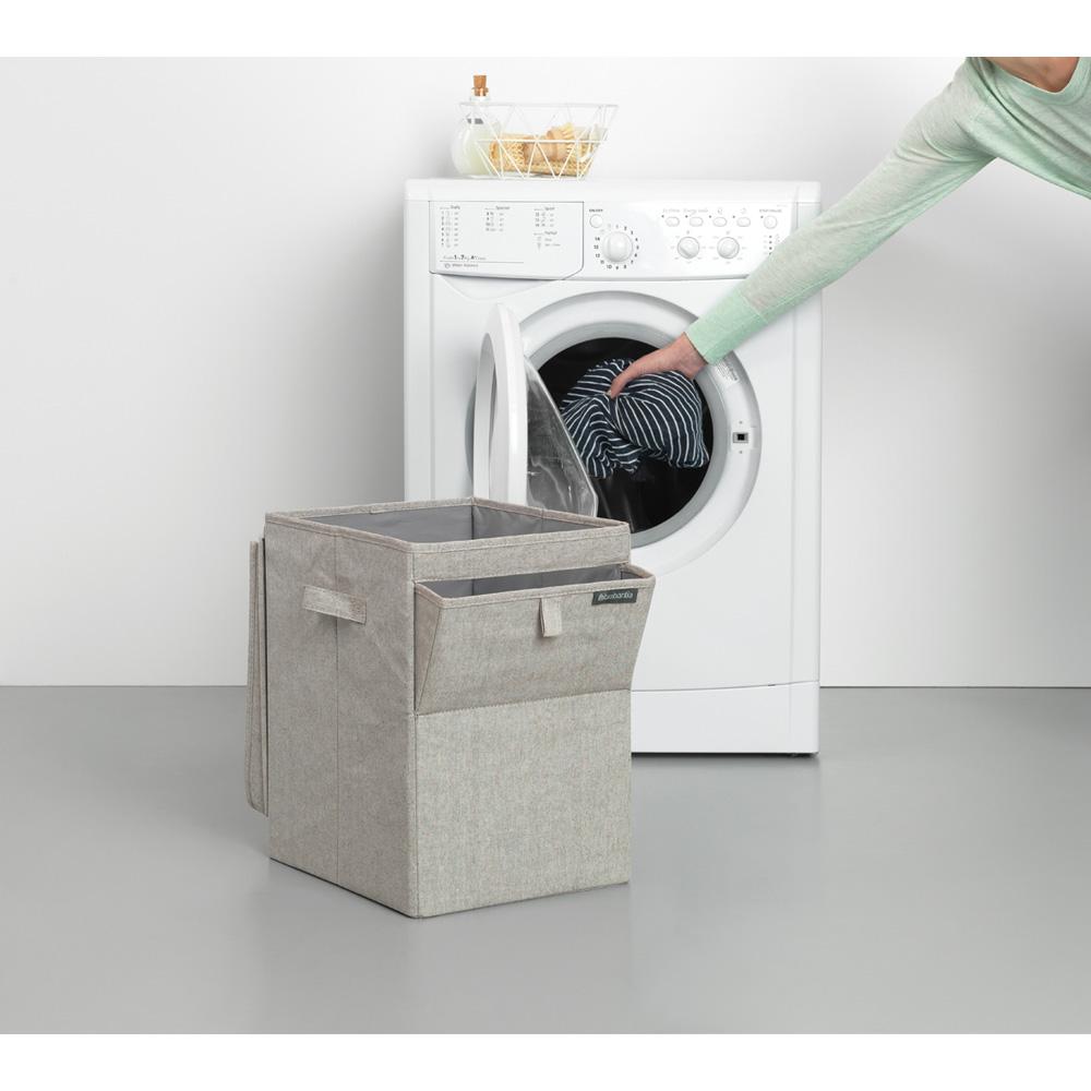 Кутия за пране Brabantia Stackable 35L, Grey(16)