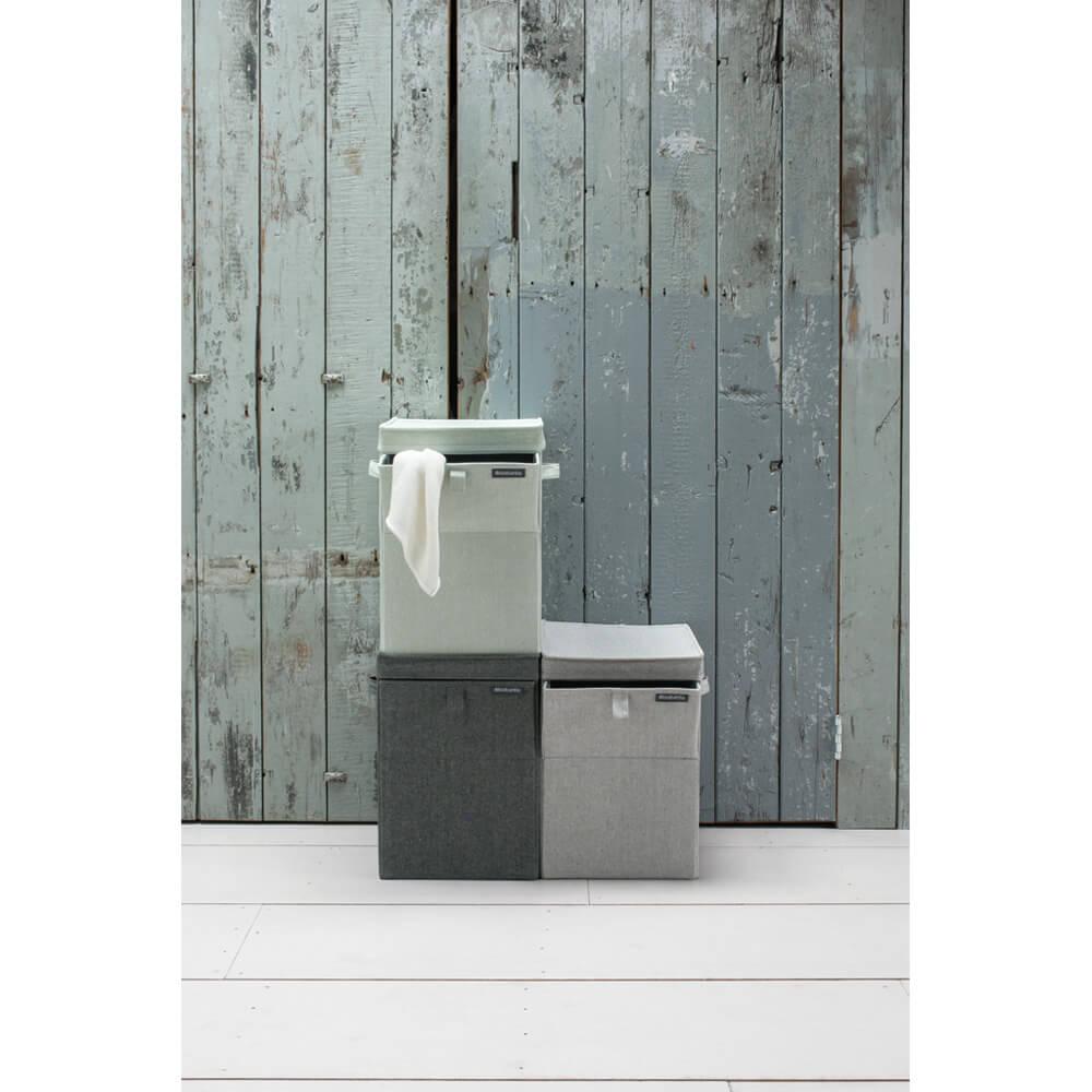 Кутия за пране Brabantia Stackable 35L, Grey(4)