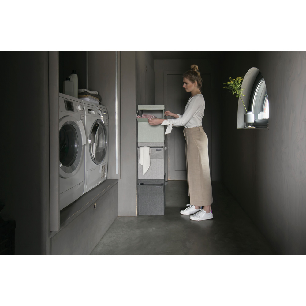 Кутия за пране Brabantia Stackable 35L, Grey(6)