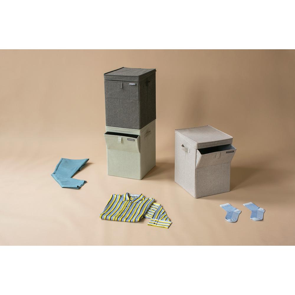 Кутия за пране Brabantia Stackable 35L, Grey(9)