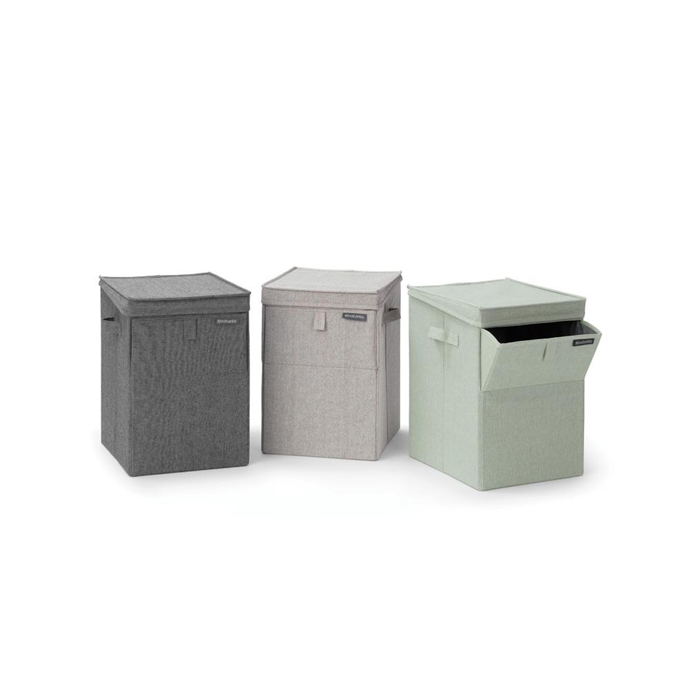 Кутия за пране Brabantia Stackable 35L, Pepper Black(1)