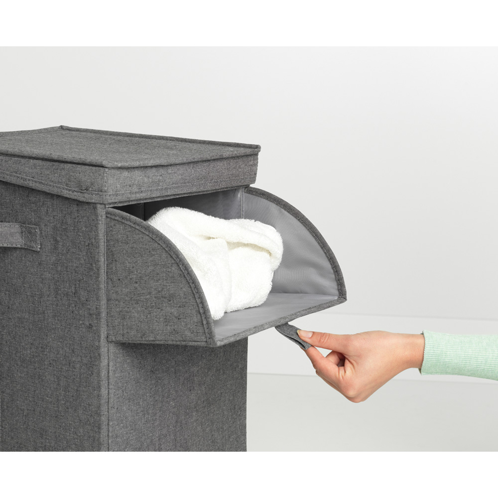 Кутия за пране Brabantia Stackable 35L, Pepper Black(9)