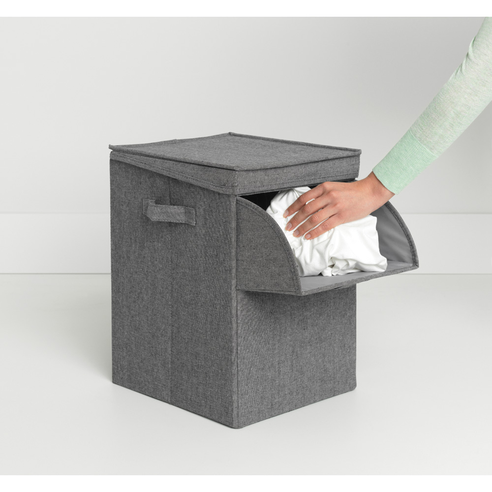 Кутия за пране Brabantia Stackable 35L, Pepper Black(10)