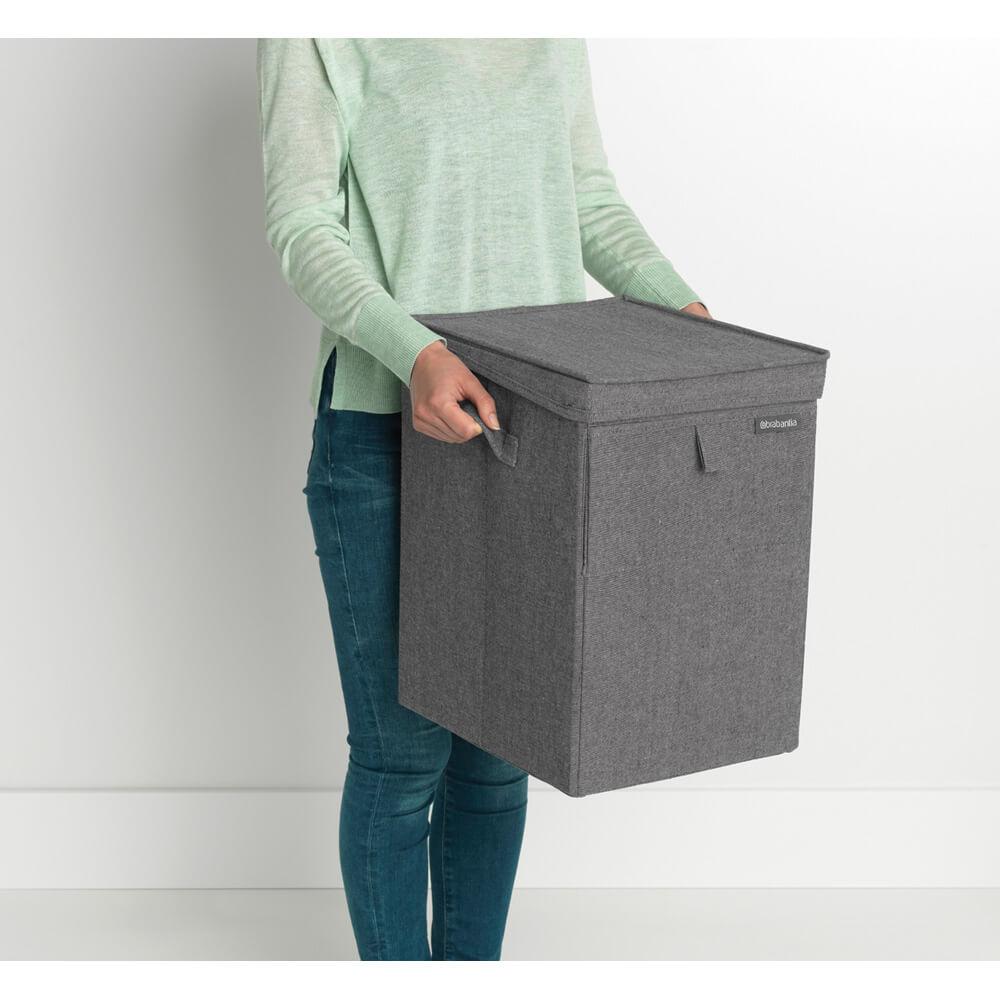 Кутия за пране Brabantia Stackable 35L, Pepper Black(13)