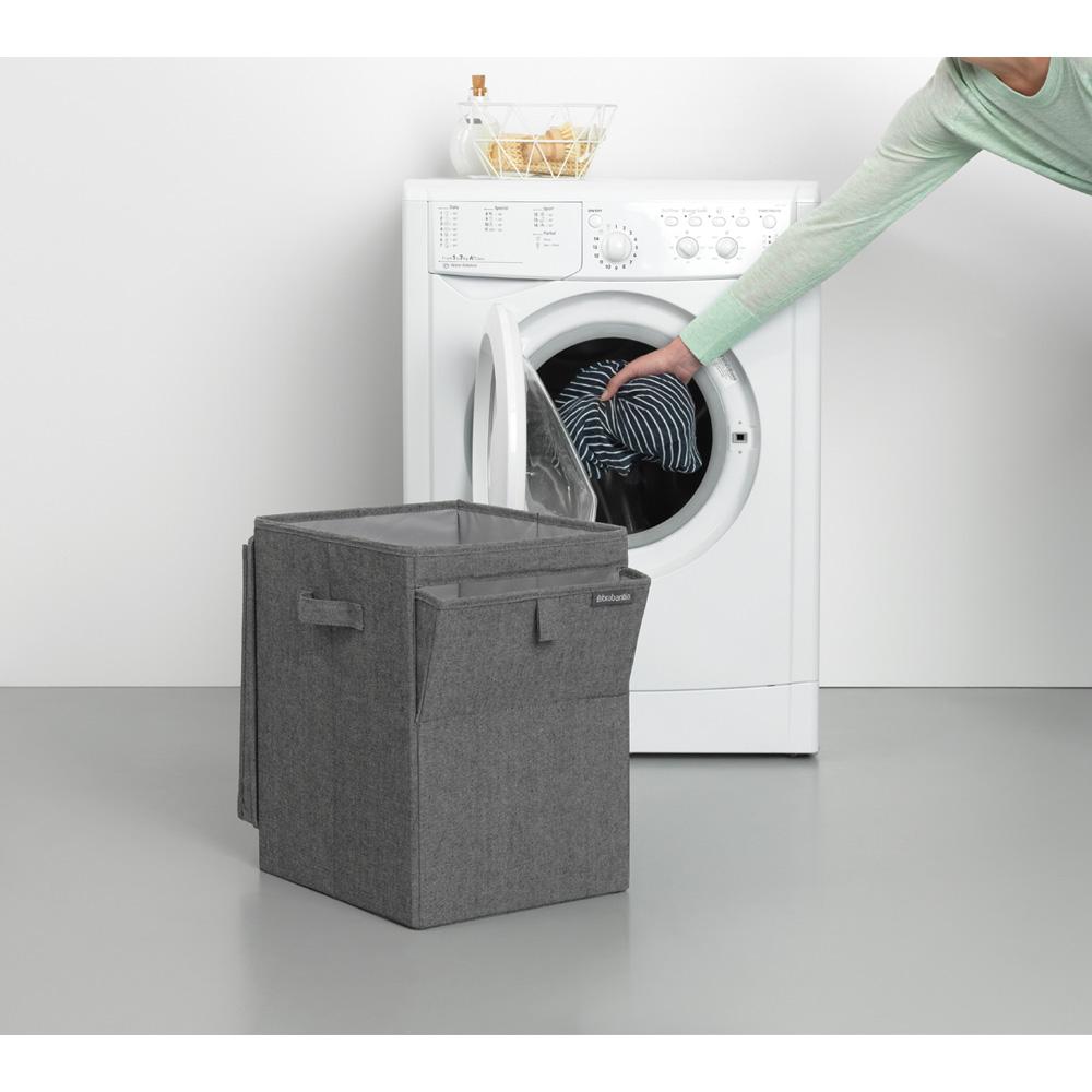 Кутия за пране Brabantia Stackable 35L, Pepper Black(15)