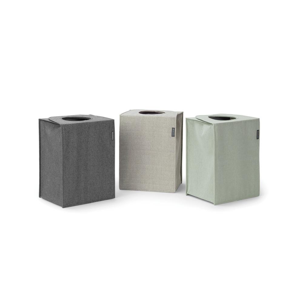 Кутия за пране Brabantia Stackable 35L, Pepper Black(2)