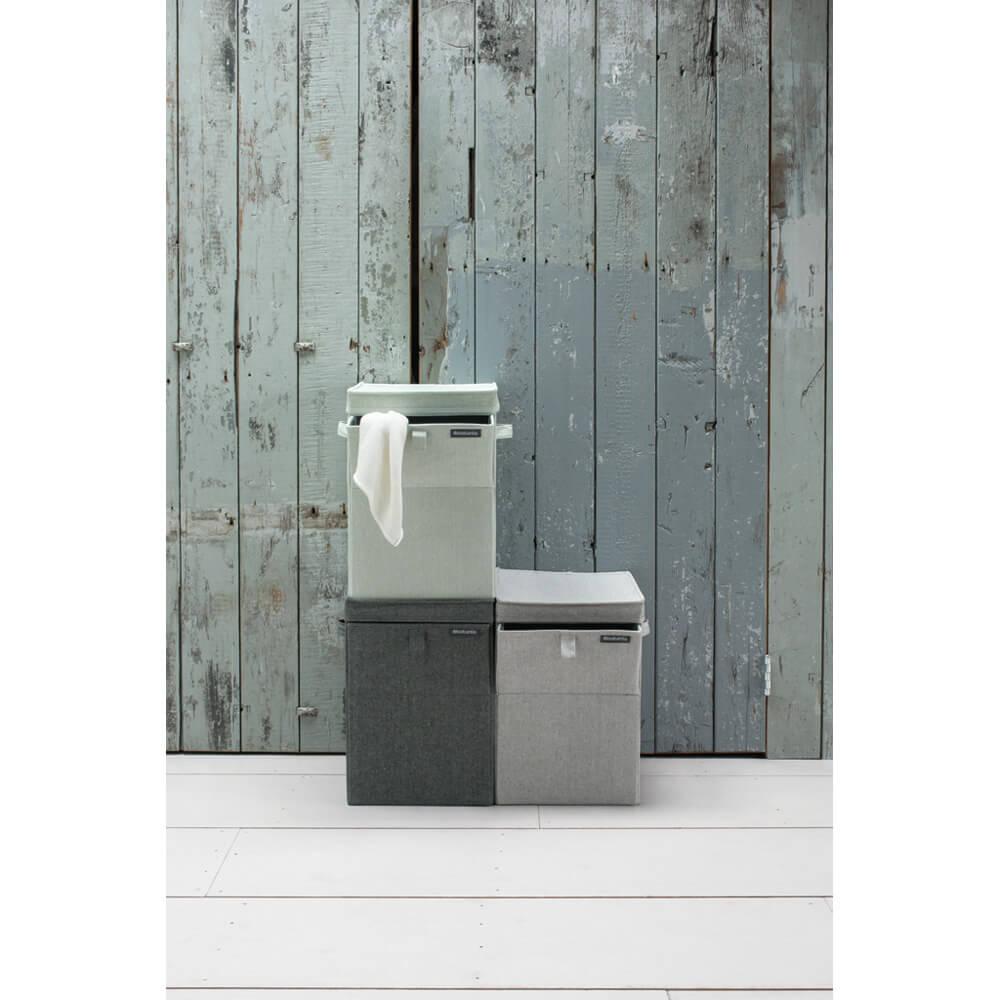 Кутия за пране Brabantia Stackable 35L, Pepper Black(3)