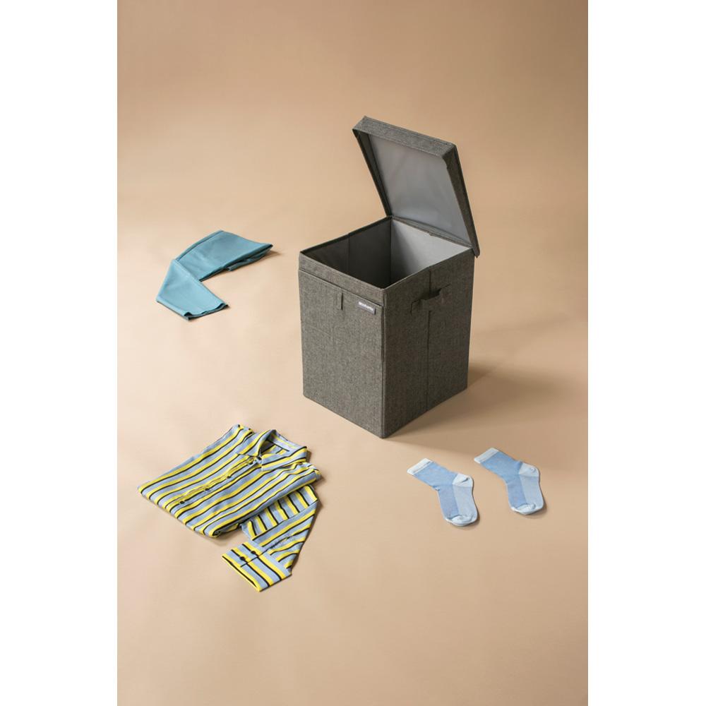 Кутия за пране Brabantia Stackable 35L, Pepper Black(8)