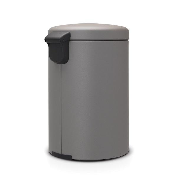Кош за смет с педал Brabantia NewIcon 20L, Mineral Concrete Grey(1)