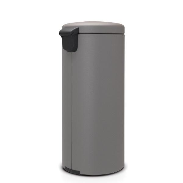 Кош за смет с педал Brabantia NewIcon 30L, Mineral Concrete Grey(1)