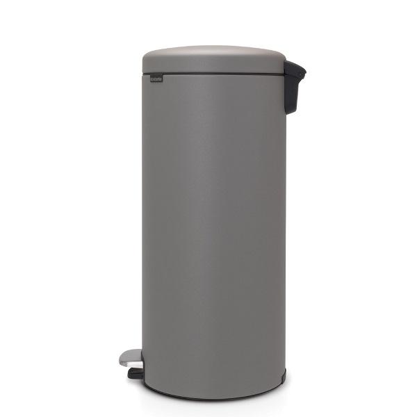 Кош за смет с педал Brabantia NewIcon 30L, Mineral Concrete Grey(2)