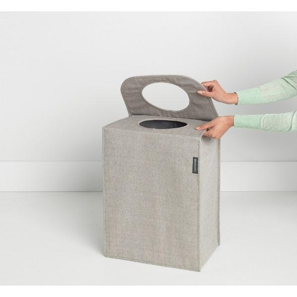 Торба пране Brabantia 55L, Grey, правоъгълна(2)