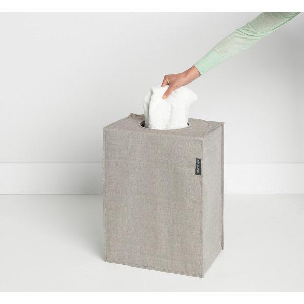 Торба пране Brabantia 55L, Grey, правоъгълна(3)