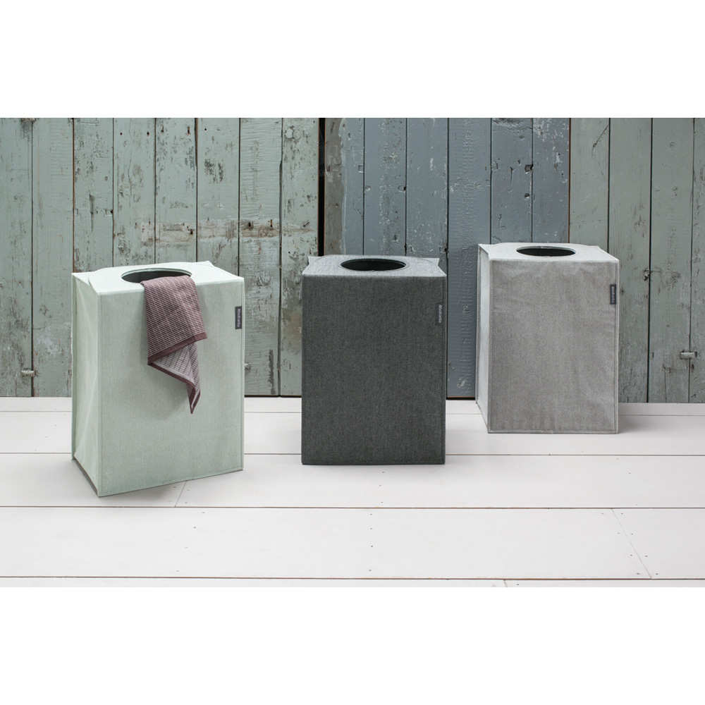 Торба пране Brabantia 55L, Grey, правоъгълна(7)