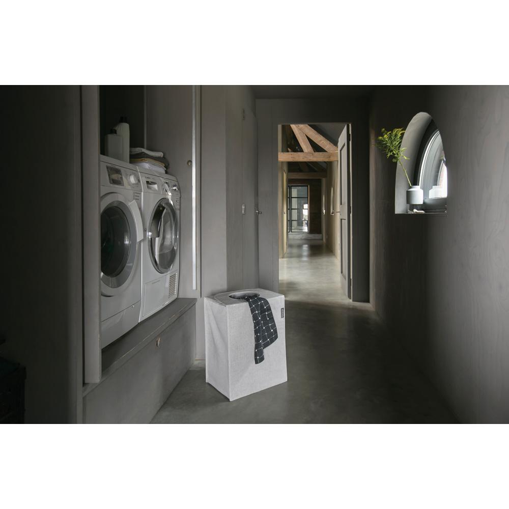 Торба пране Brabantia 55L, Grey, правоъгълна(8)