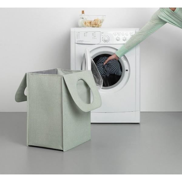 Торба пране Brabantia 55L, Green, правоъгълна(5)