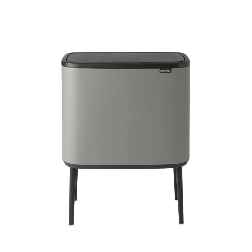 Кош за смет Brabantia Bo Touch 36L, Mineral Concrete Grey