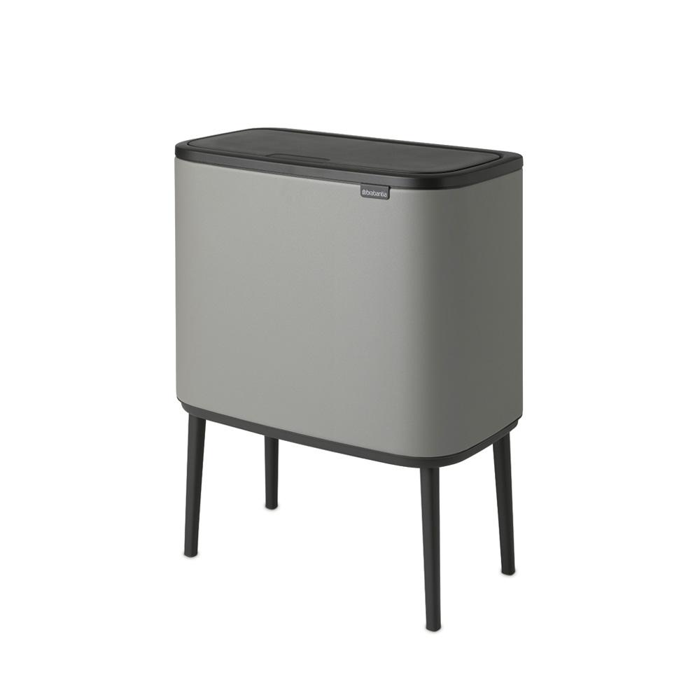 Кош за смет Brabantia Bo Touch 36L, Mineral Concrete Grey(2)