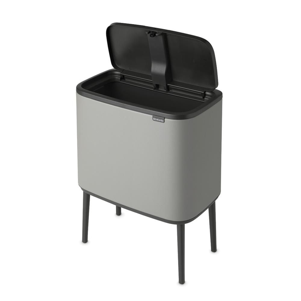 Кош за смет Brabantia Bo Touch 36L, Mineral Concrete Grey(5)