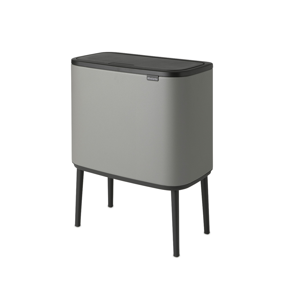 Кош за смет Brabantia Bo Touch 3x11L, Mineral Concrete Grey(2)