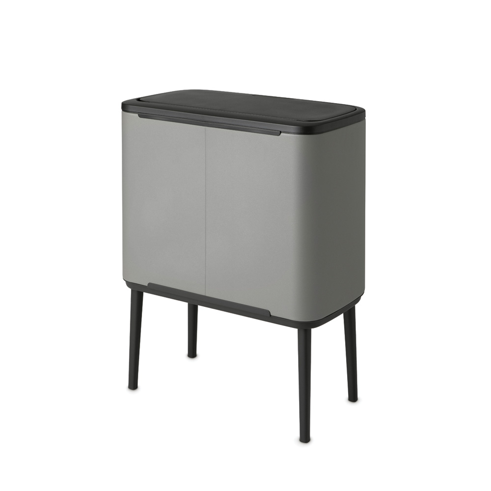 Кош за смет Brabantia Bo Touch 3x11L, Mineral Concrete Grey(3)