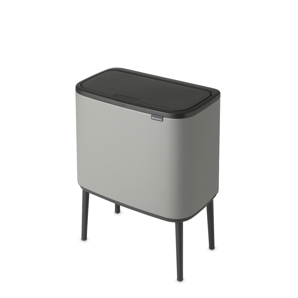 Кош за смет Brabantia Bo Touch 3x11L, Mineral Concrete Grey(4)