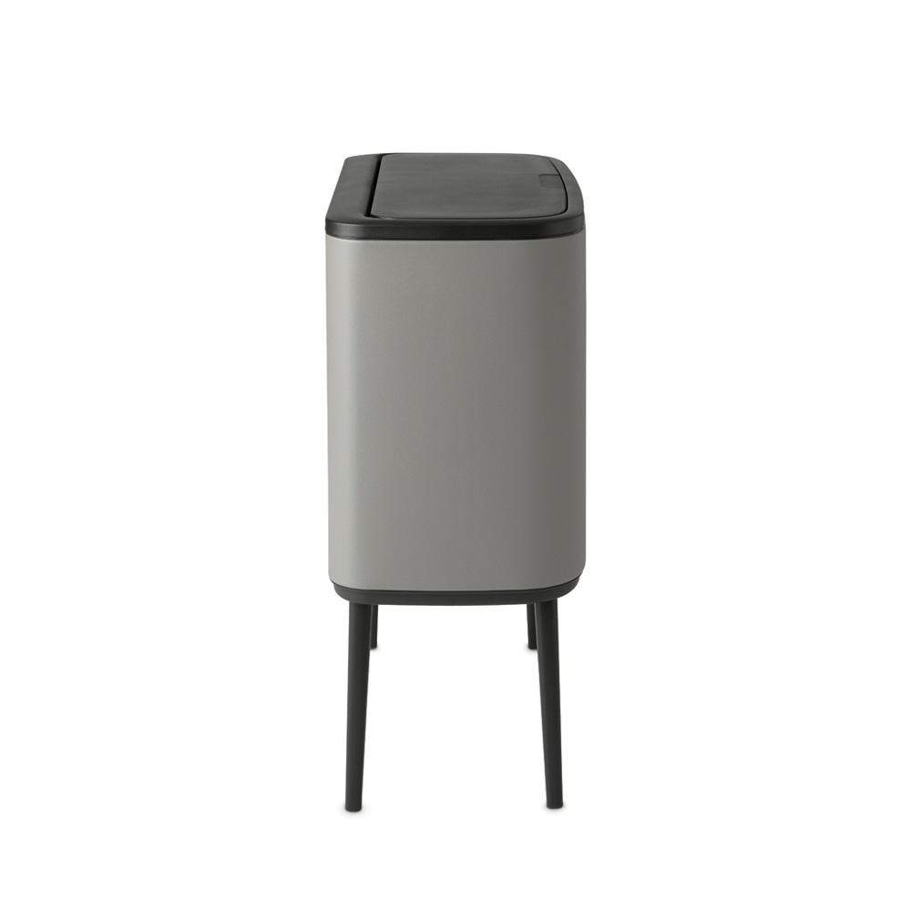 Кош за смет Brabantia Bo Touch 11+23L, Mineral Concrete Grey(1)