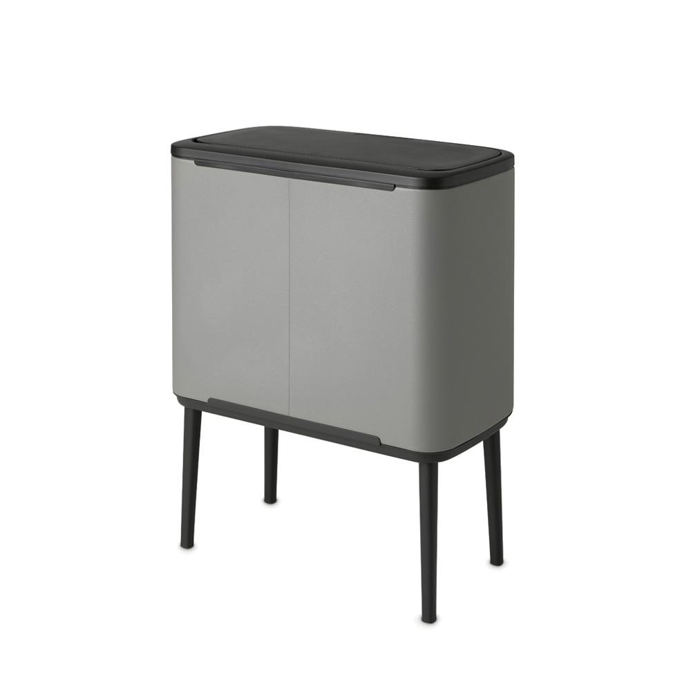 Кош за смет Brabantia Bo Touch 11+23L, Mineral Concrete Grey(3)