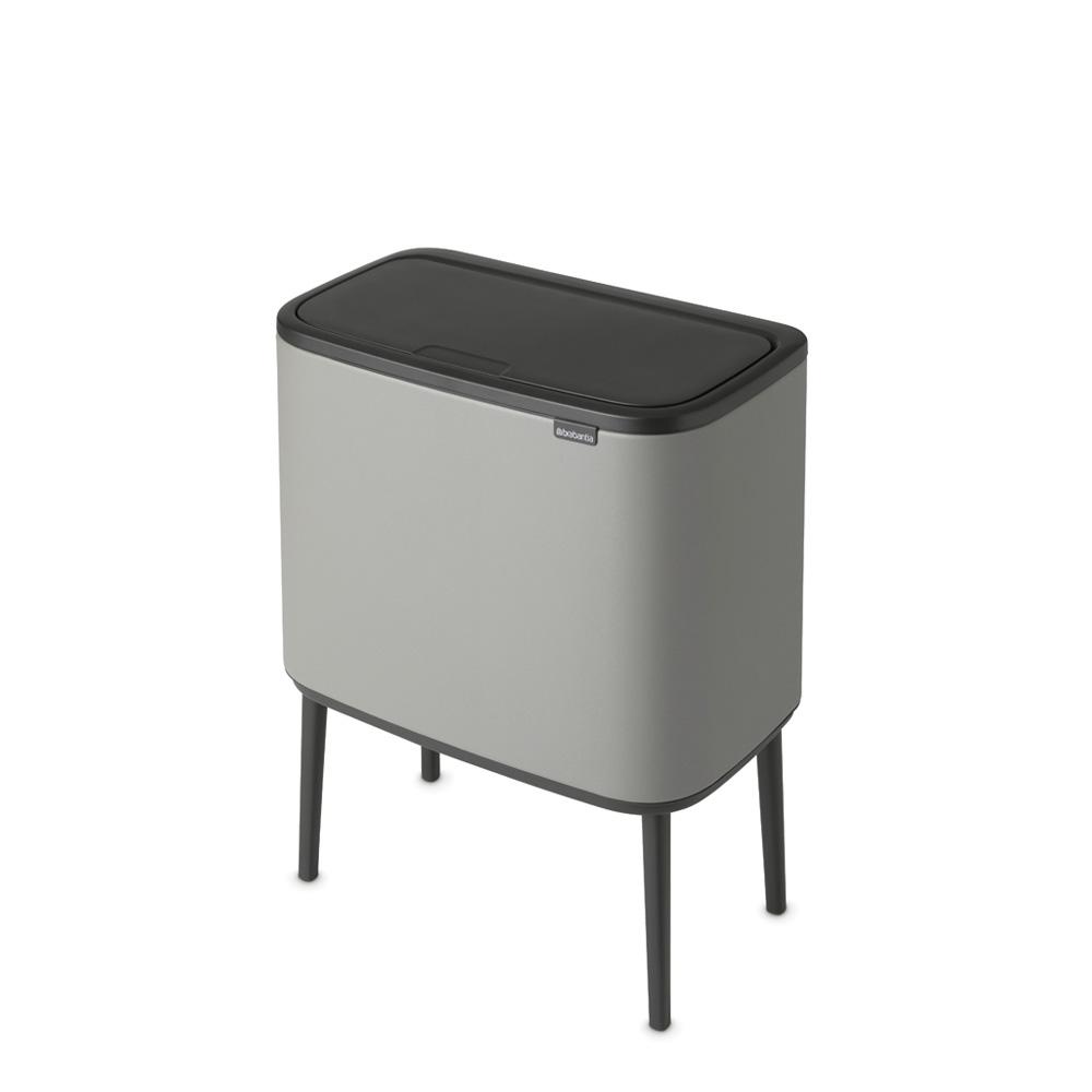 Кош за смет Brabantia Bo Touch 11+23L, Mineral Concrete Grey(4)