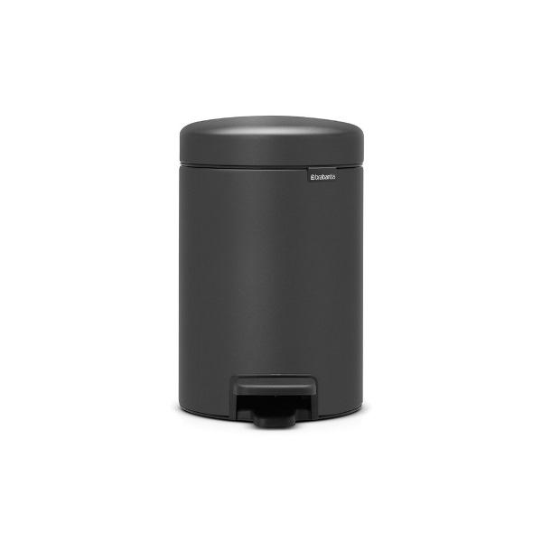 Кош за смет с педал Brabantia NewIcon 3L, Mineral Infinite Grey