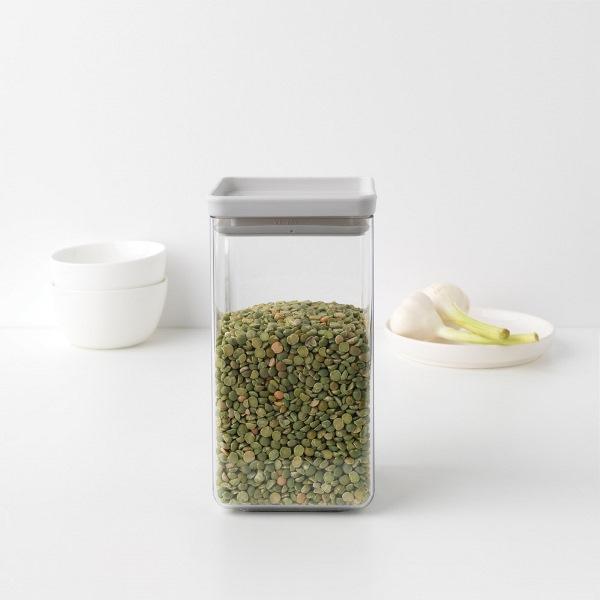 Буркан Brabantia Tasty+ 1.6L, Light Grey(1)