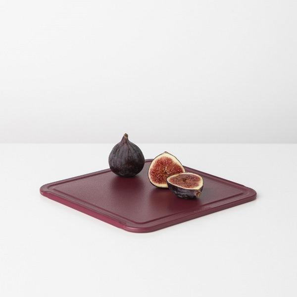Дъска за рязане Brabantia Tasty+ Aubergine Red, средна(1)