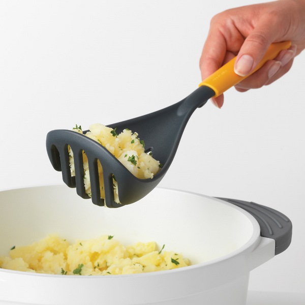 Преса за картофи и лъжица Brabantia Tasty+ Honey Yellow(3)