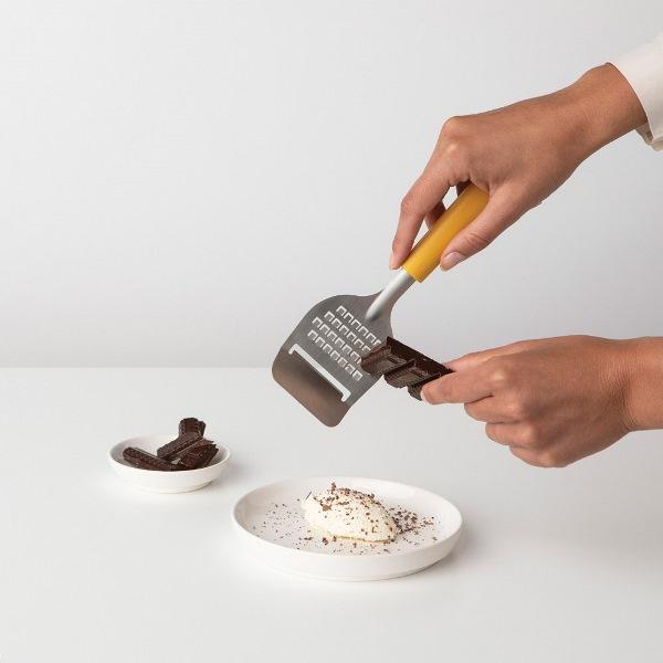 Нож за сирена с ренде Brabantia Tasty+ Honey Yellow(2)