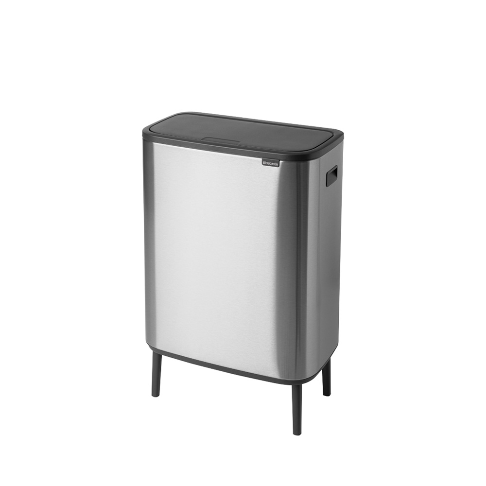 Кош за смет Brabantia Bo Touch Hi 60L, Matt Steel Fingerprint Proof(1)