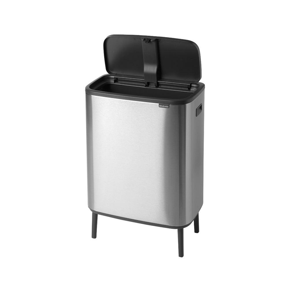 Кош за смет Brabantia Bo Touch Hi 60L, Matt Steel Fingerprint Proof(2)