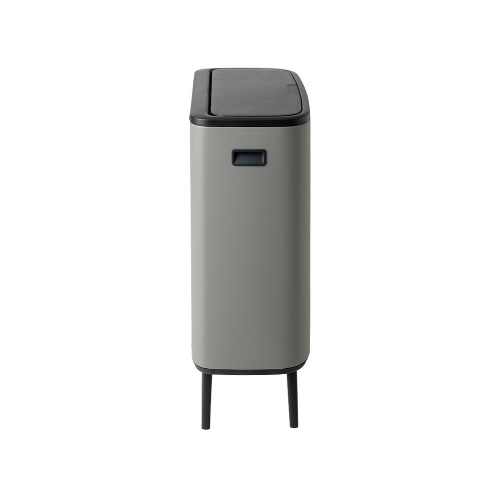 Кош за смет Brabantia Bo Touch Hi 60L, Mineral Concrete Grey(3)