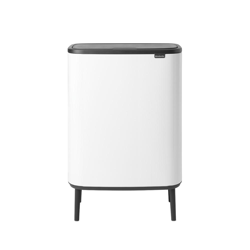 Кош за смет Brabantia Bo Touch Hi 2x30L, White