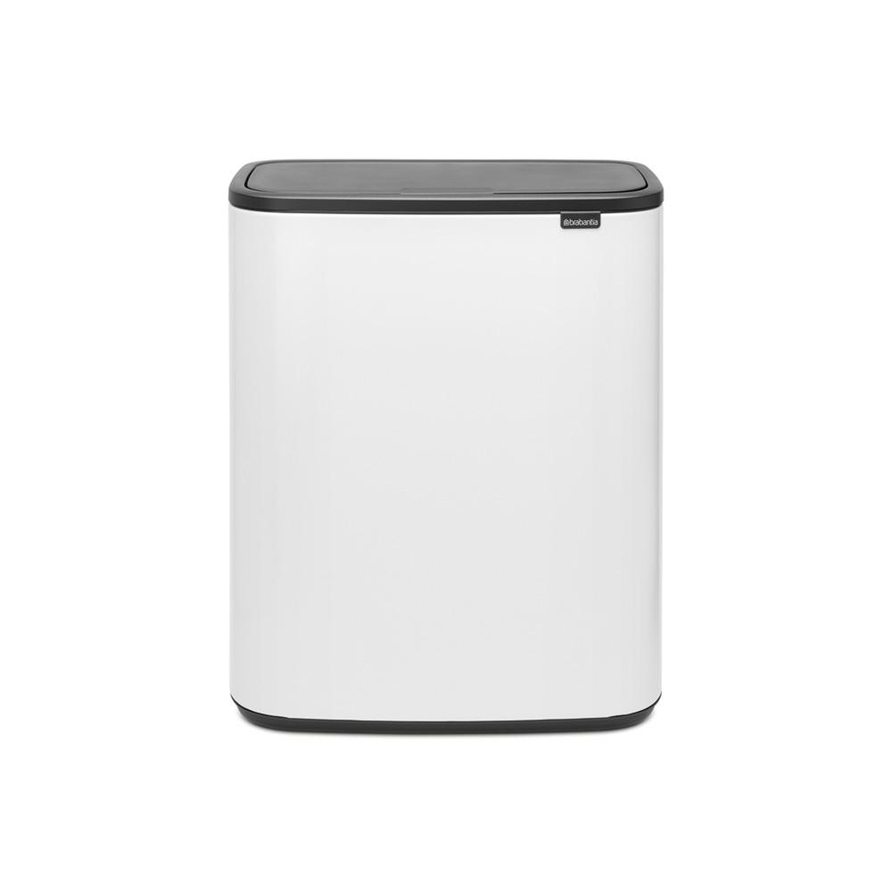 Кош за смет Brabantia Bo Touch 2x30L, White