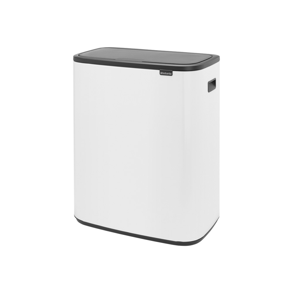 Кош за смет Brabantia Bo Touch 2x30L, White(1)