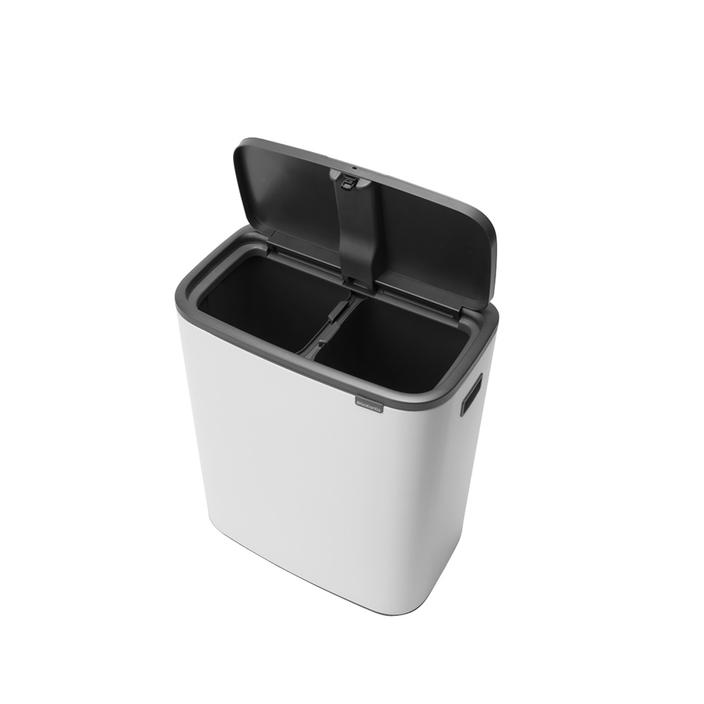Кош за смет Brabantia Bo Touch 2x30L, White(2)