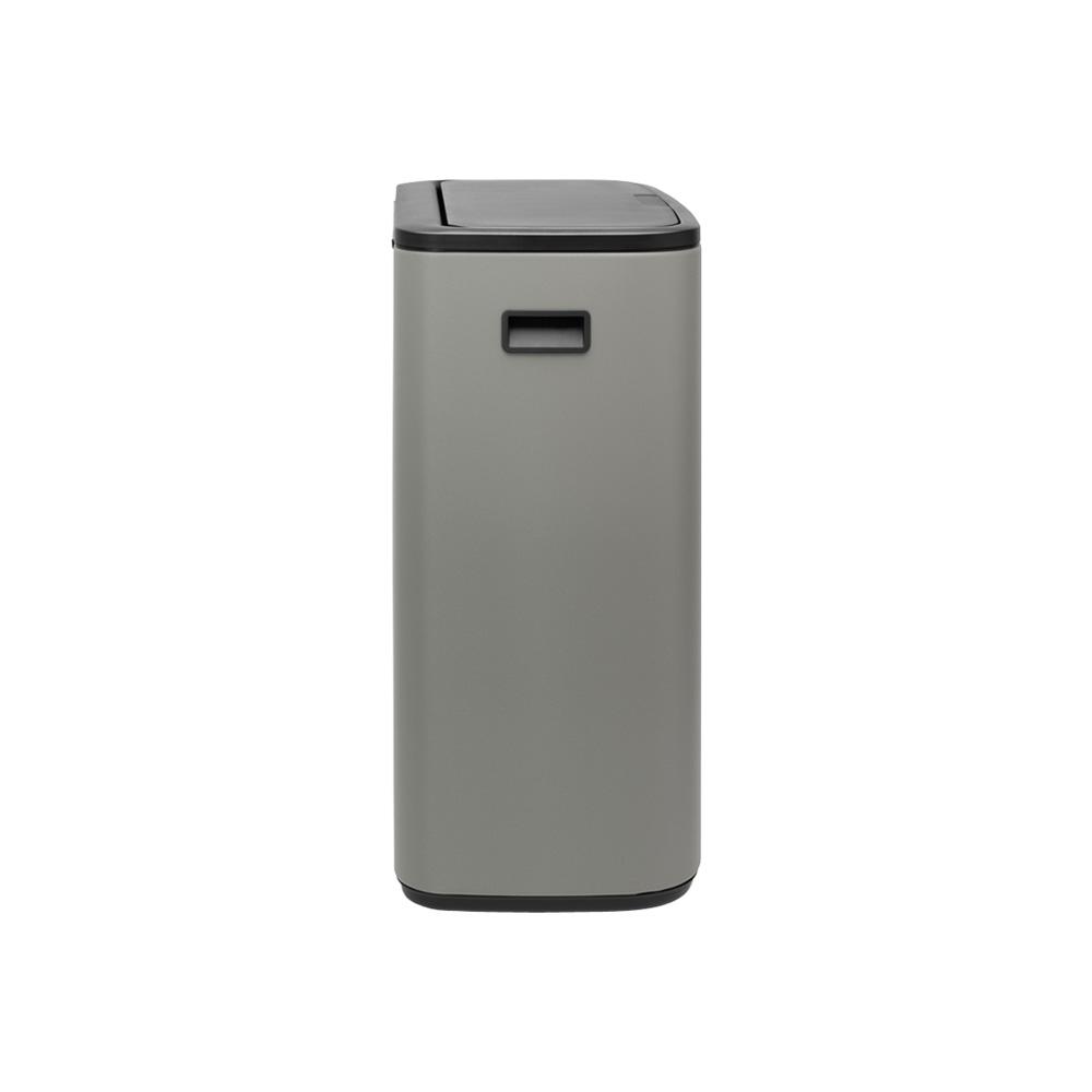 Кош за смет Brabantia Bo Touch 2x30L, Mineral Concrete Grey(3)