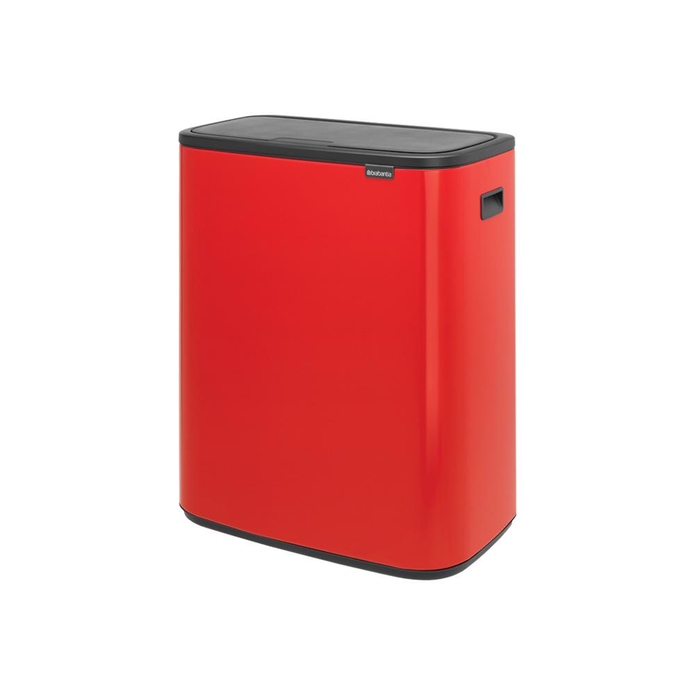 Кош за смет Brabantia Bo Touch 2x30L, Passion Red(1)