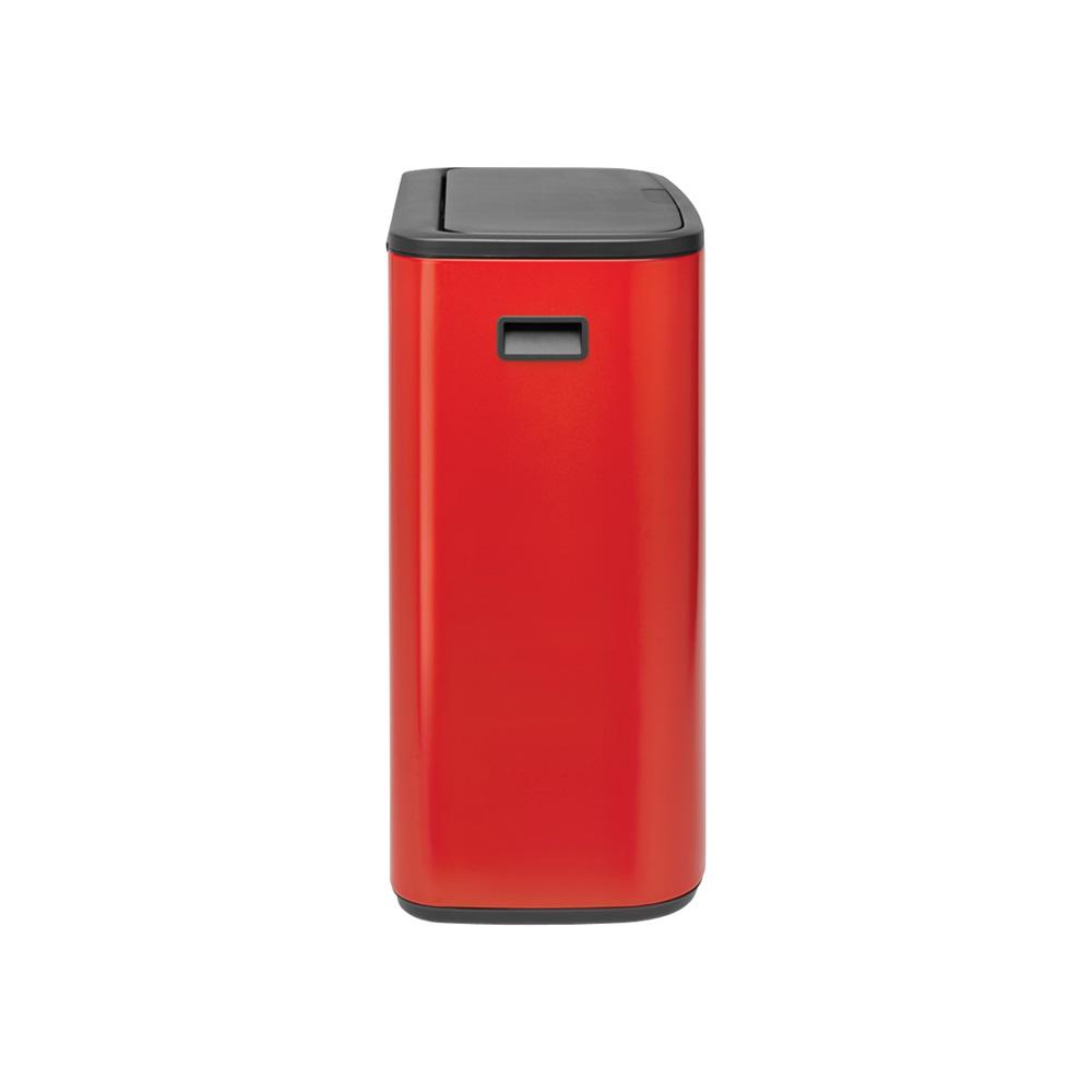 Кош за смет Brabantia Bo Touch 2x30L, Passion Red(3)