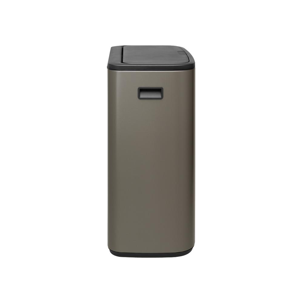 Кош за смет Brabantia Bo Touch 2x30L, Platinum(3)