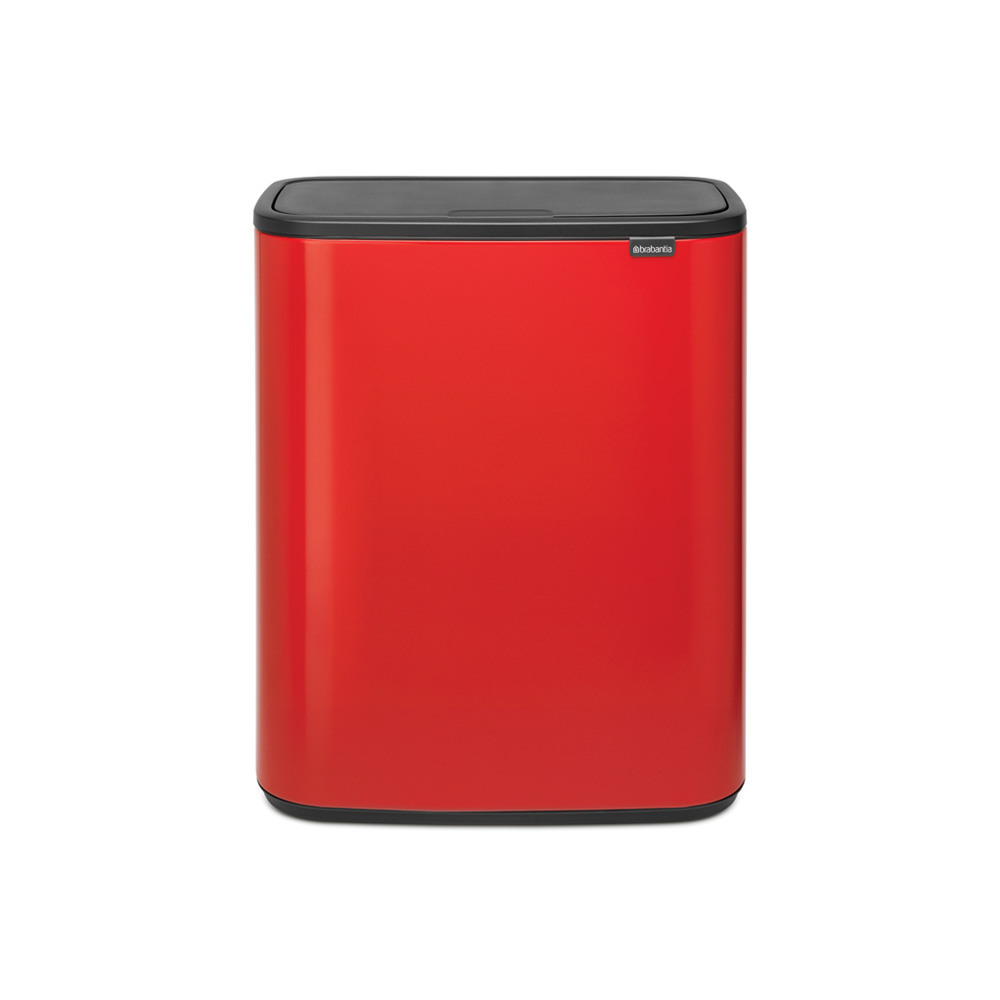 Кош за смет Brabantia Bo Touch 60L, Passion Red